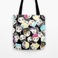 BIGBANG Collage (Black) Tote Bag