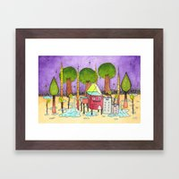 Dream House 2 Framed Art Print