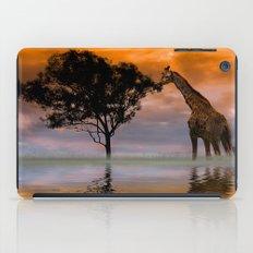 Giraffe at Sunset iPad Case