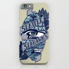 Go Hawks iPhone 6 Slim Case