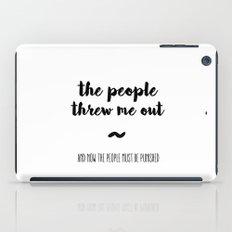 The people iPad Case