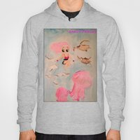Sandy Pickles, Swimming With The Fishes! Hoody