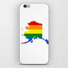 LGBT Alaska (Gay Pride) iPhone & iPod Skin