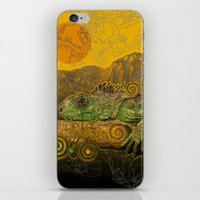 Just Chilling And Dreami… iPhone & iPod Skin
