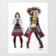 Fashion Journal: Day 11 Art Print