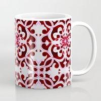 Lotus Floral Tile Patter… Mug