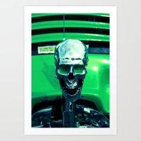 Death Racer Art Print