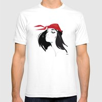 Elektra After Gruau Mens Fitted Tee White SMALL