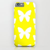butterfly iPhone & iPod Cases featuring Butterfly by Naked N Pieces