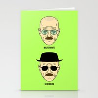Walter White Or Heisenbe… Stationery Cards
