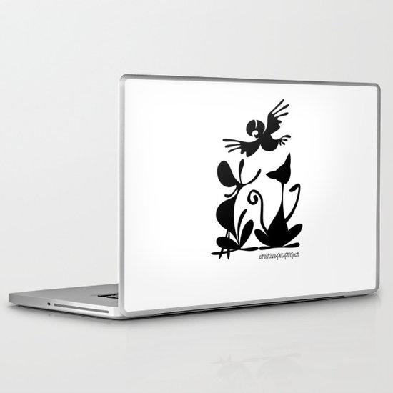 Pet Logo Laptop & iPad Skin