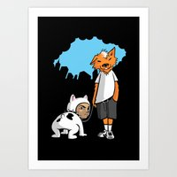UnderDog Art Print