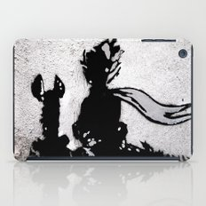 The little prince and the fox - stencil for the LIFE CURRENT WALL series iPad Case