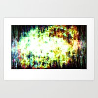 You Are Here, As Are We … Art Print