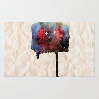 Little Nebula Watercolor Rug