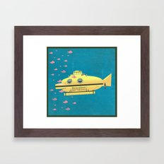 Jacqueline (The Life Aquatic) Framed Art Print