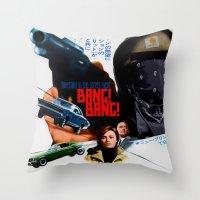 CAREFUL Throw Pillow