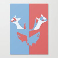 Pocket Monster 380 And 3… Canvas Print