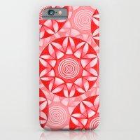 Red Mandala iPhone 6 Slim Case