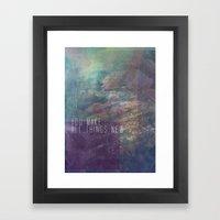 Revelation 21:5 Framed Art Print