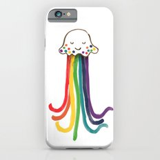 Rainbow Jellyfish iPhone 6 Slim Case