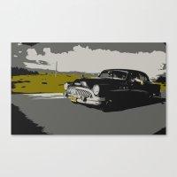 Cuban Car Canvas Print