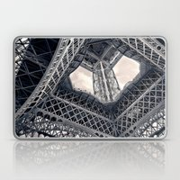 Eiffel Steel Laptop & iPad Skin