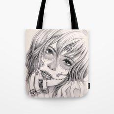 Sugar Skull Girl 2 Tote Bag