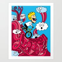 Yipppeee! Art Print