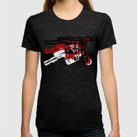 Blaster Womens Fitted Tee Tri-Black SMALL