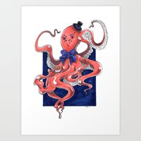 ::Mister Octopus:: Art Print