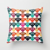 patternplay series - v1 Throw Pillow