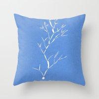 Nowhere tree Throw Pillow
