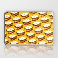 Ham Sandwich Pattern Laptop & iPad Skin