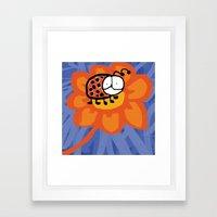 Ladybug 2 Framed Art Print