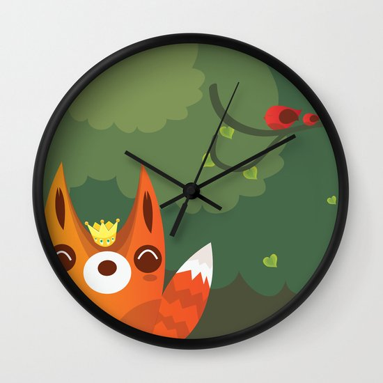 Kingfox Wall Clock