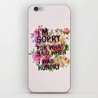 I'm Sorry For What I Sai… iPhone & iPod Skin