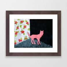 Dog Room Framed Art Print