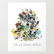 The External World Art Print