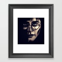 Boy Who Lived Framed Art Print