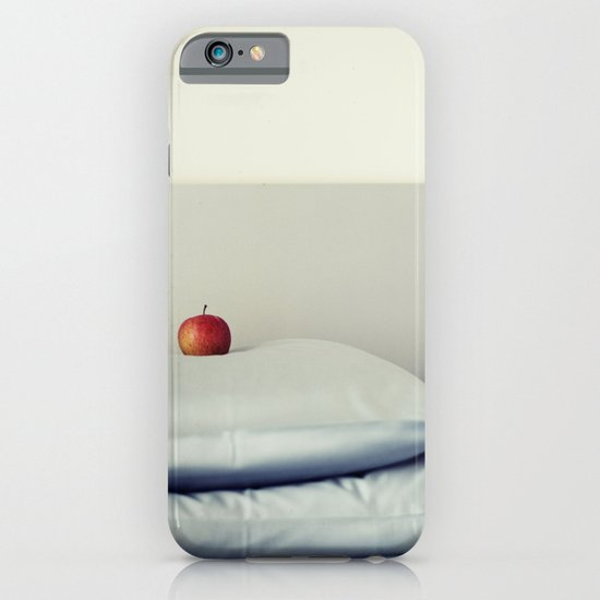 an apple a day ... iPhone & iPod Case