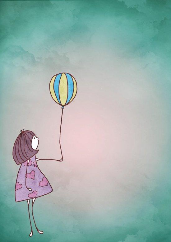One Ballon Art Print