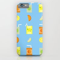 iPhone & iPod Case featuring Juice Pattern  by Becky Gibson