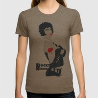 Rocky Horror Womens Fitted Tee Tri-Coffee SMALL