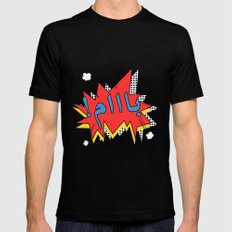 Baam Black SMALL Mens Fitted Tee