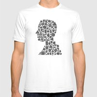 Untitled Silhouette In R… Mens Fitted Tee White SMALL