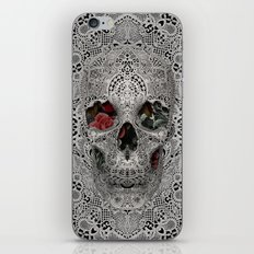 Lace Skull 2 iPhone & iPod Skin