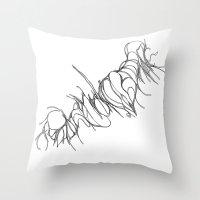 Subconscious Lust Throw Pillow