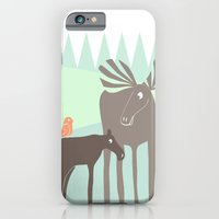 iPhone & iPod Case featuring Moose by Cecilia Andersson