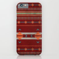 Efinity Pattern Red iPhone 6 Slim Case